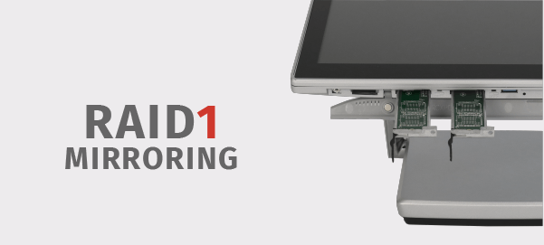 XPOS configurabile in RAID1 mirroring